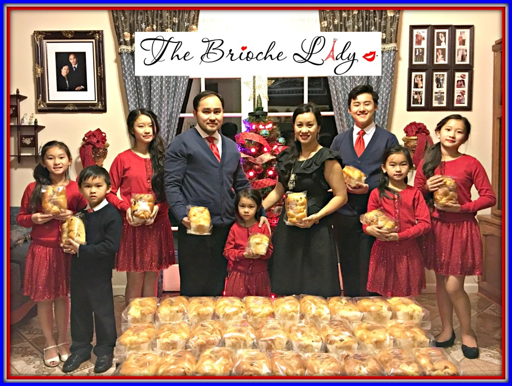 The Brioche Lady, Doc, Our Kids, and Brioches.