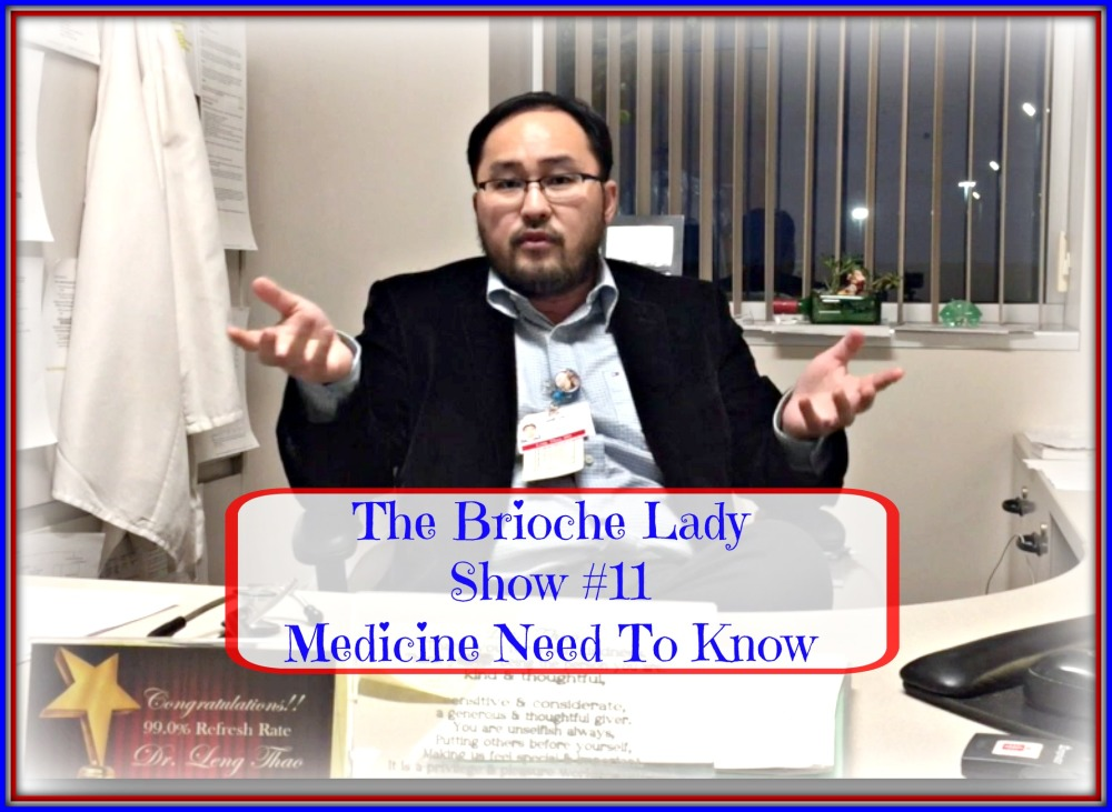 Doc goes over a few things you need to know about medications.