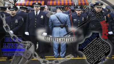 Support good cops, opposing the bad ones.