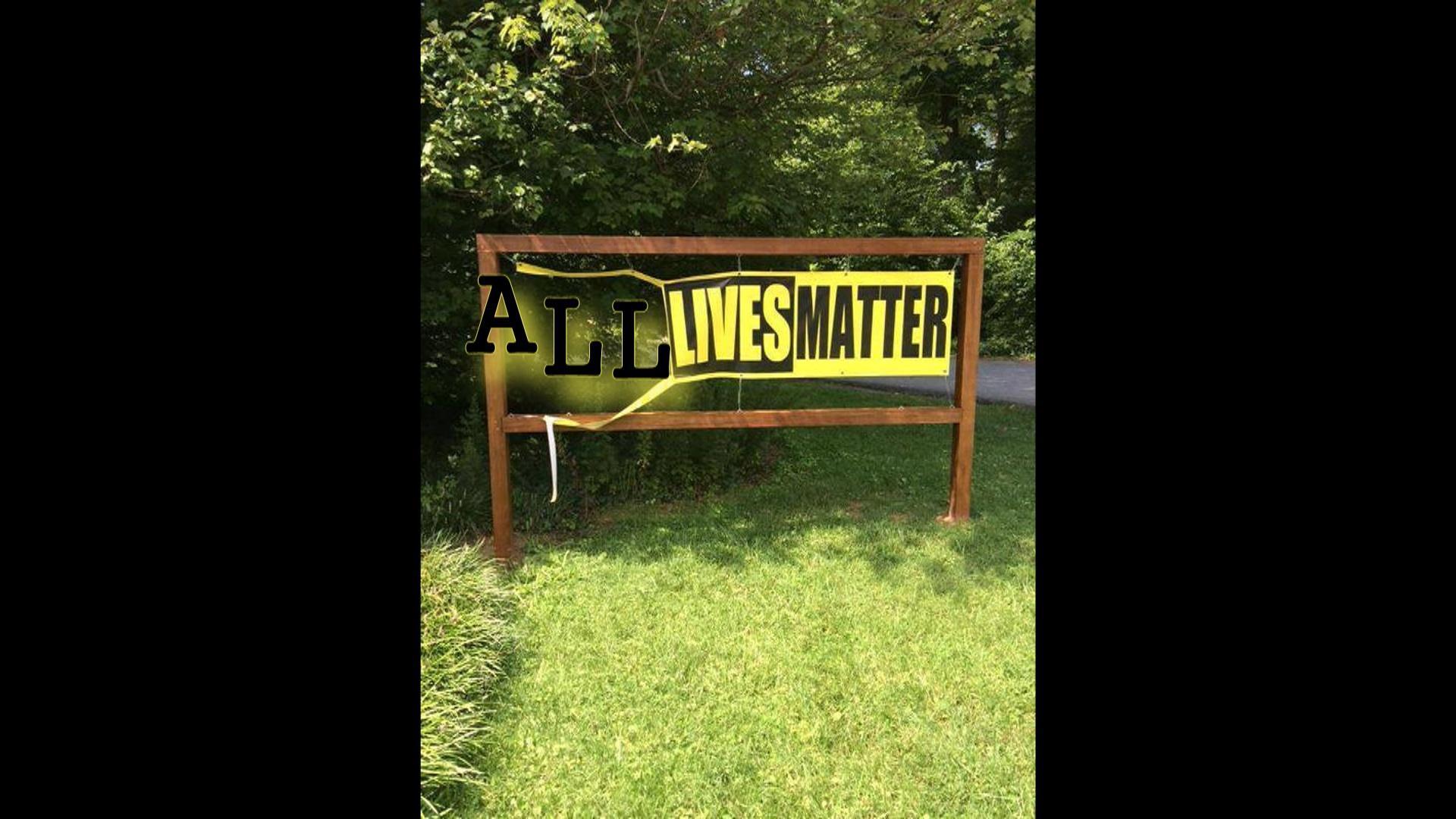 All lives vs Black Lives