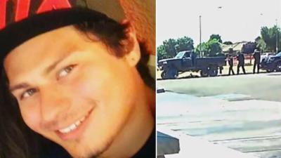 Video shows police shooting unarmed teen.