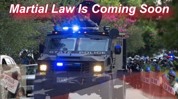 Is martial law here?