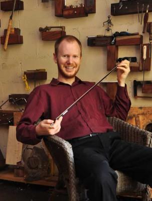 Joel Sheard violin viola cello bow maker in Perth Western Australia