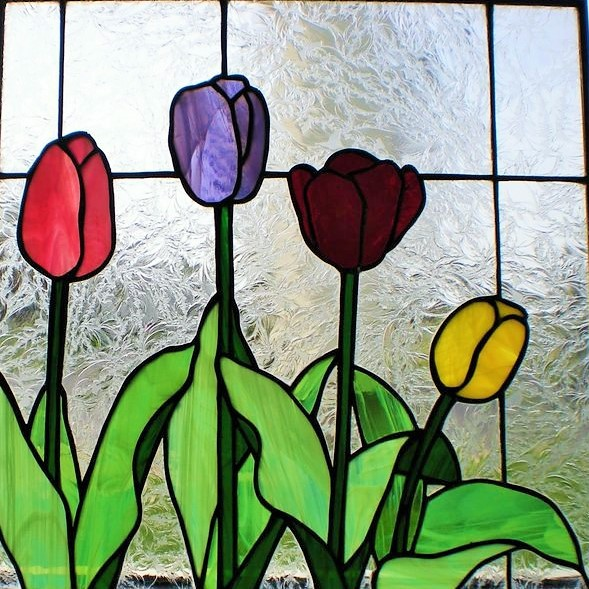 Tulips to the Right