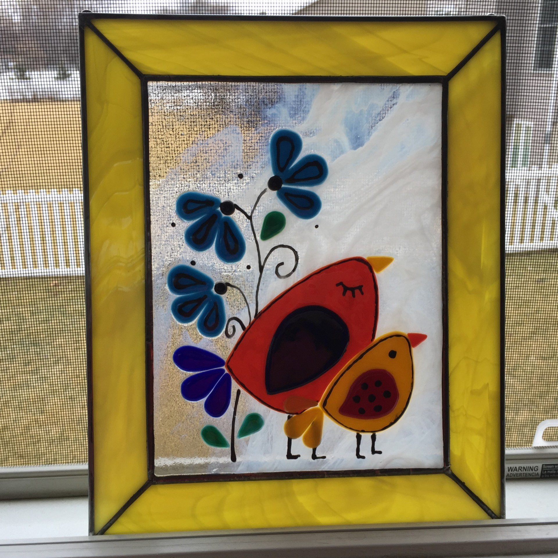 Fused Stained Glass