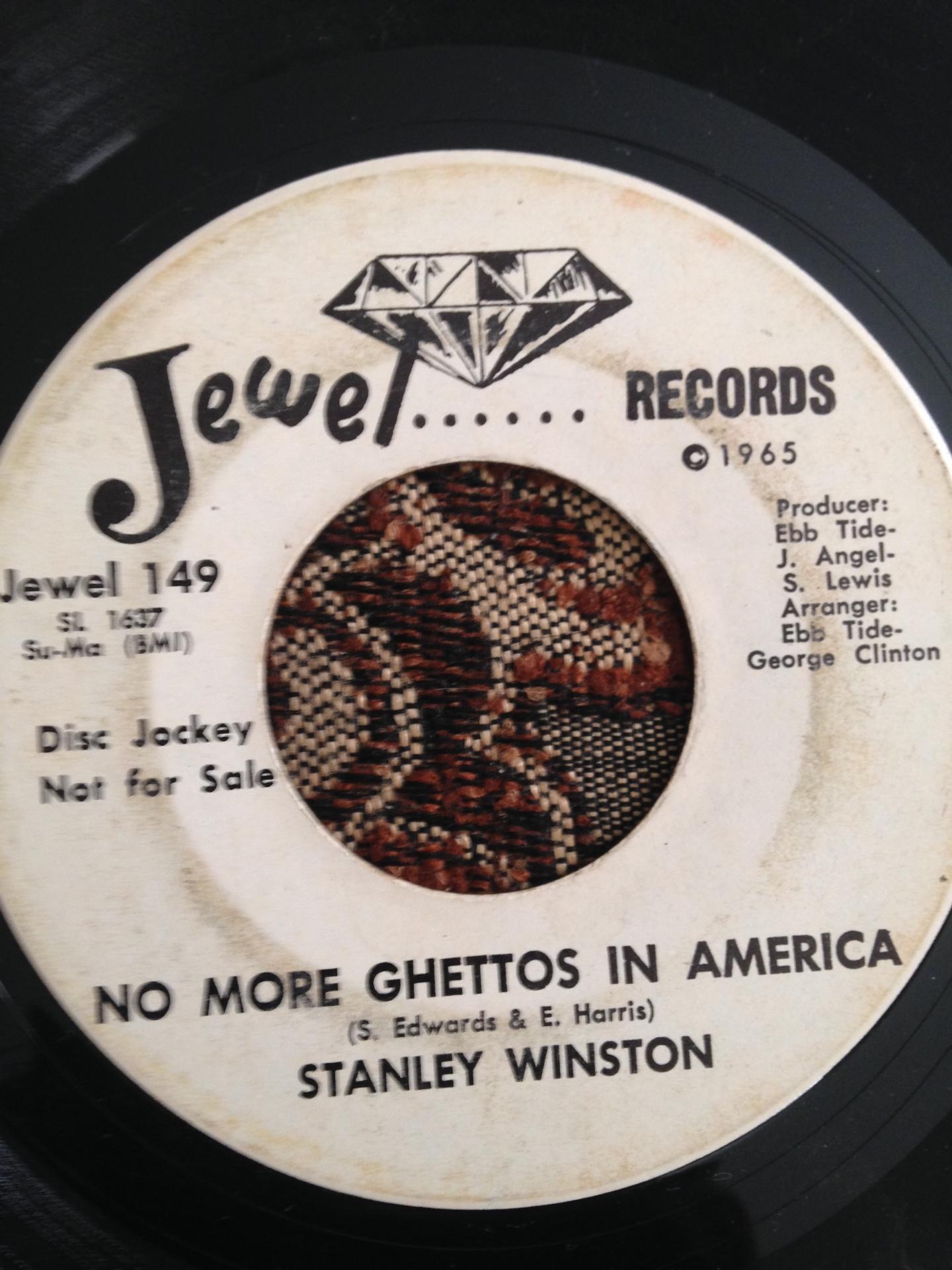 Stanley Winston - No More Ghettos In America