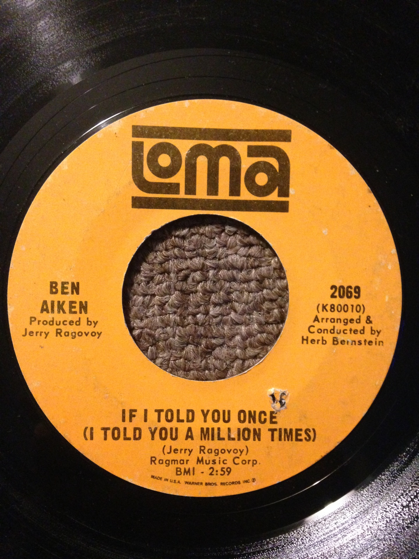 Ben Aiken - If I Told You Once (I Told You A Million Times)