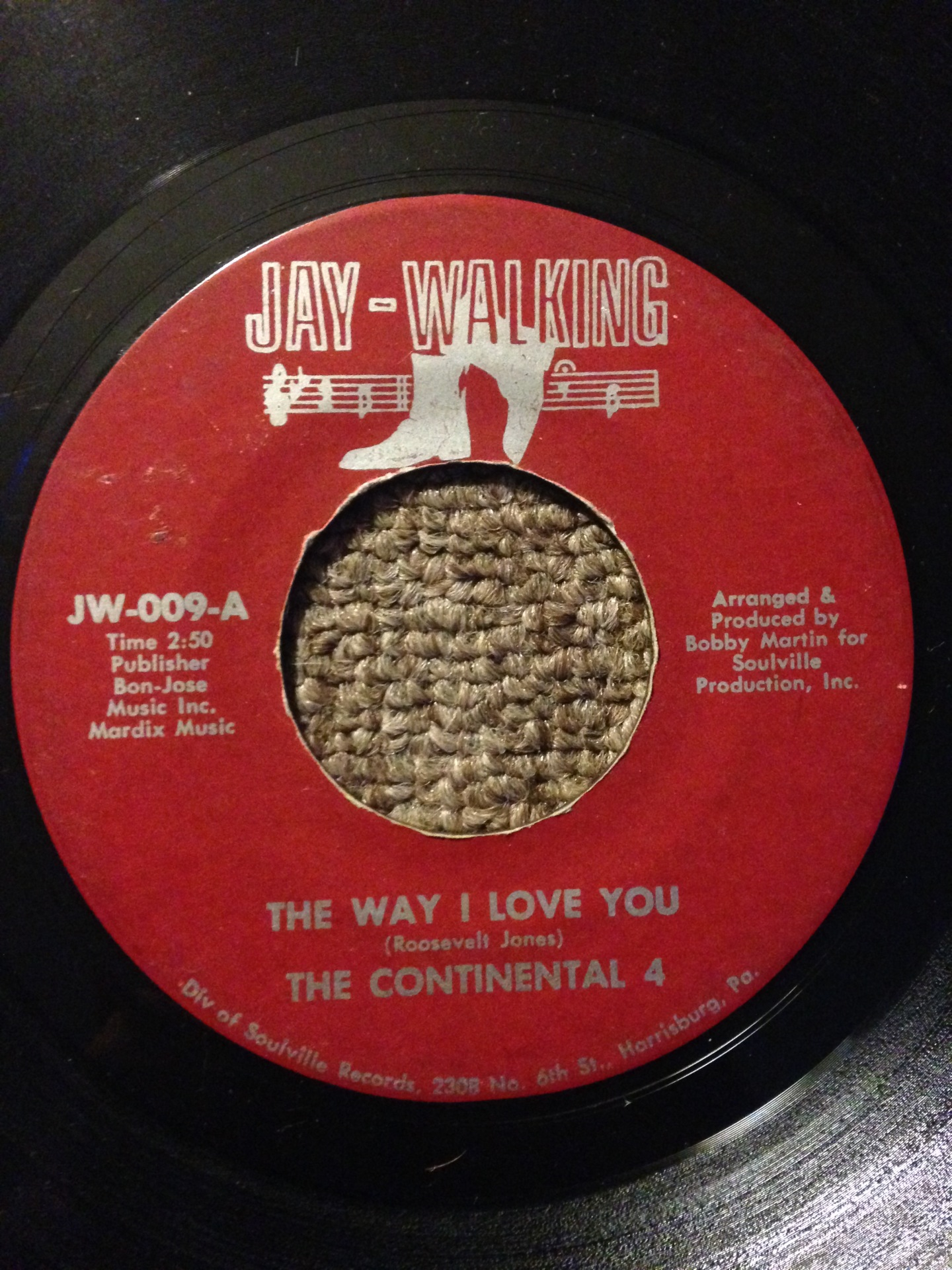 The Continental 4 - The Way I Love You