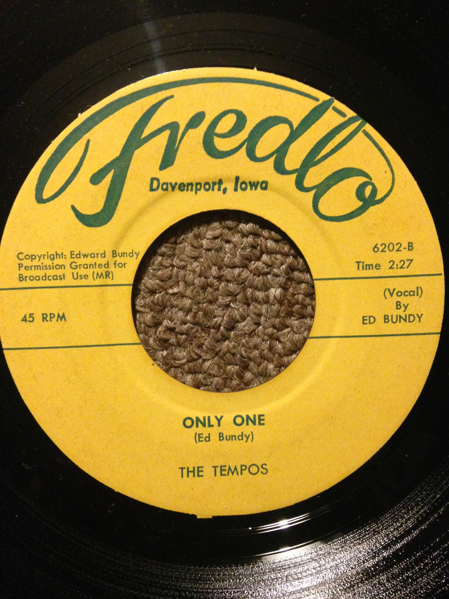 The Tempos - Only One