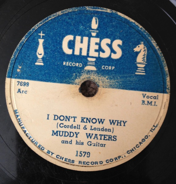 Muddy Waters & His Guitar - I Don't Know Why
