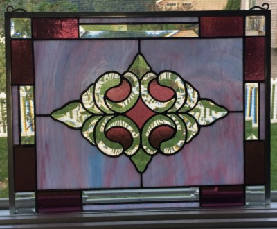 bevel cluster emporia stained glass