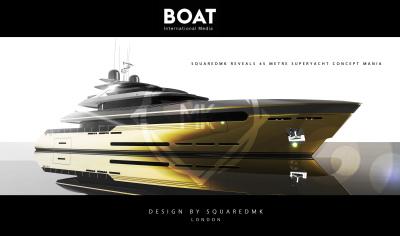 British design studio Squared MK reveals 45 metre superyacht concept Mania
