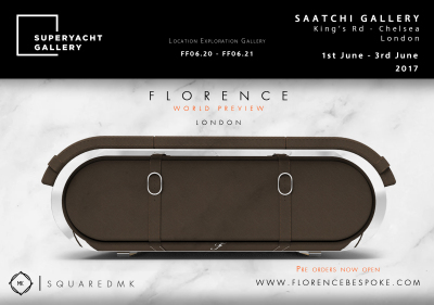 SquaredMK Superyacht Gallery Official Partner - Presenting Florence