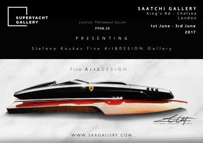 SquaredMK Superyacht Gallery Official Partner - Presenting Stefano Koukas Fine Art&DESIGN Gallery