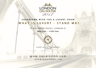 SquaredMK official partner London On Water 2017