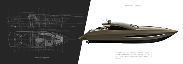 power yacht, yacht, luxury speed boat, boat, fast, design, yacht design, squaredmk