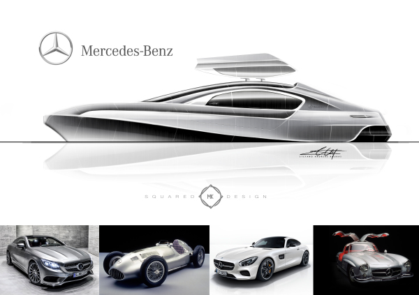 automotive concept, yacht, power boat, design,
