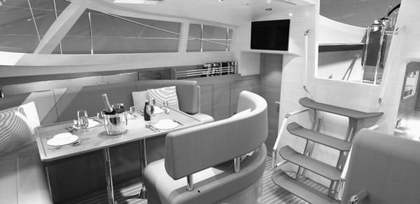 interior design, concept interior, sailing yacht, kraken