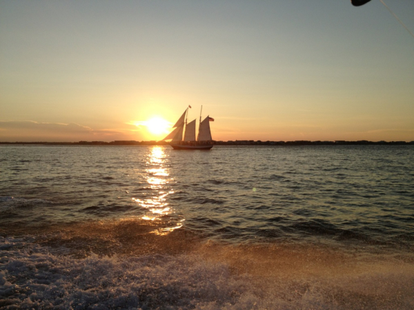 Sunset's worth memories!