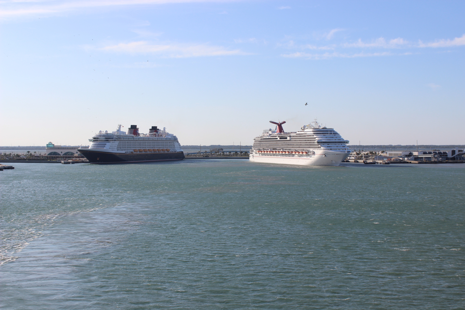 Sailing from Port Canaveral Florida