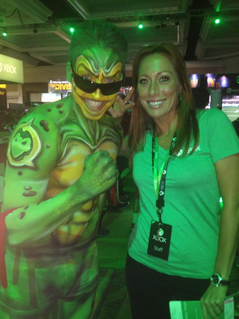Character Handler - Comic Con - Xbox