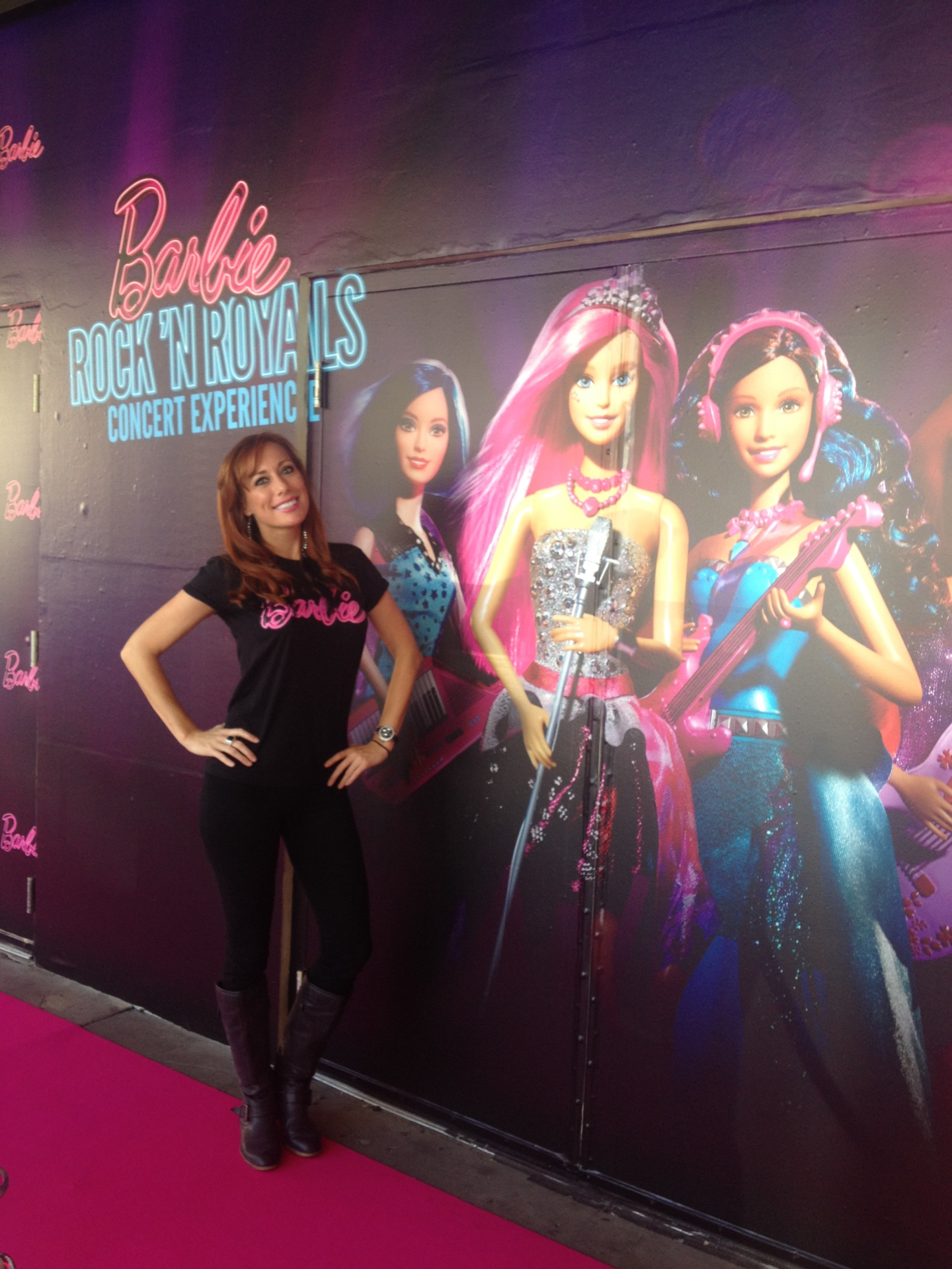 Barbie Rock & Royals Concert Pink Carpet Event