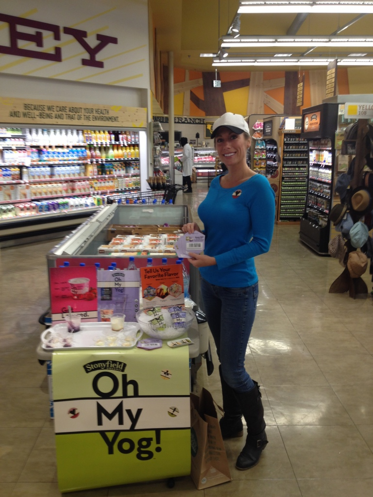 Brand Ambassador - In Store Sampling - Oh My Yog