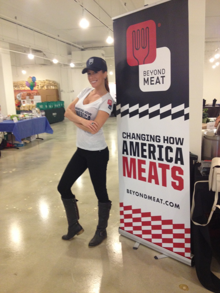 Food Sampling - Fit Expo - Beyond Meat