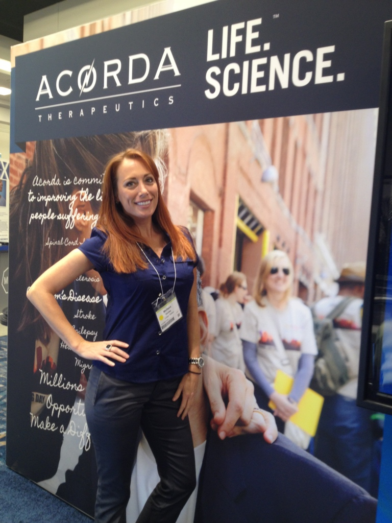 Booth Hostess - Movement Disorder Society MDS Expo - Acorda