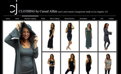 Website Model - Casual Wear
