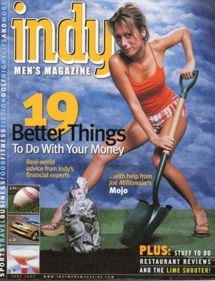 Cover Girl - Magazine Model