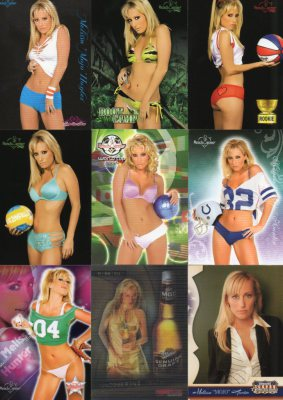 Benchwarmer Collector Card Model