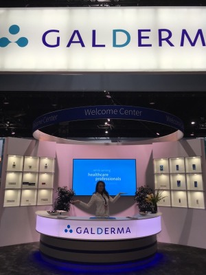 Information Desk - Reception - ADA American Dermatology Assoc. - Galderma