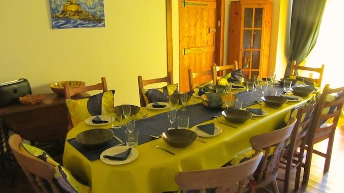 Le Choisel - family dining