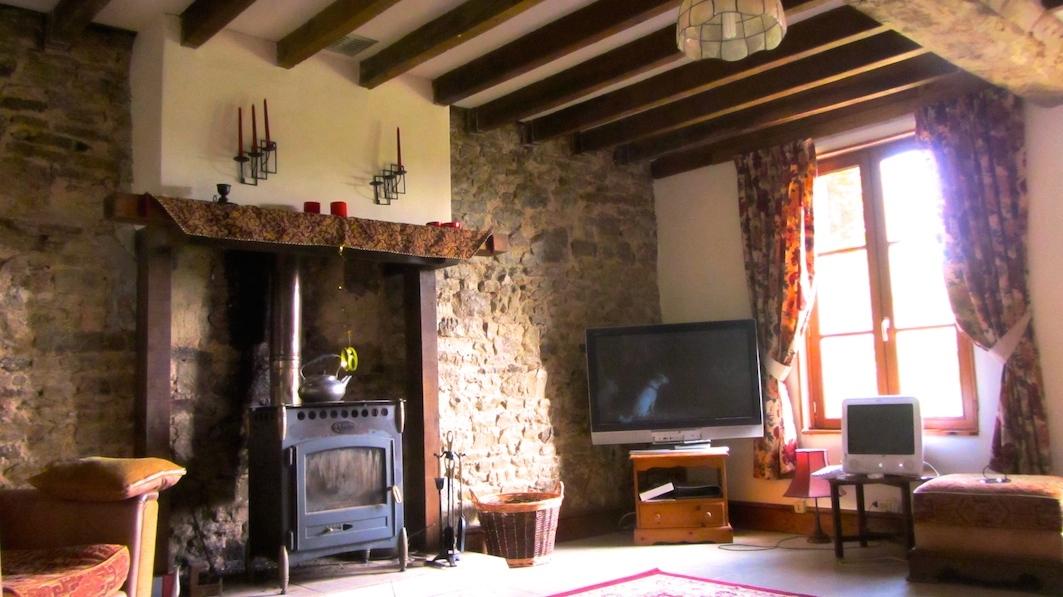 lounge at Le Choisel, Normandy, France