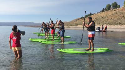Paddle Boarding (Provided)