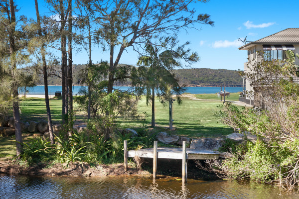 Jetty and lawns