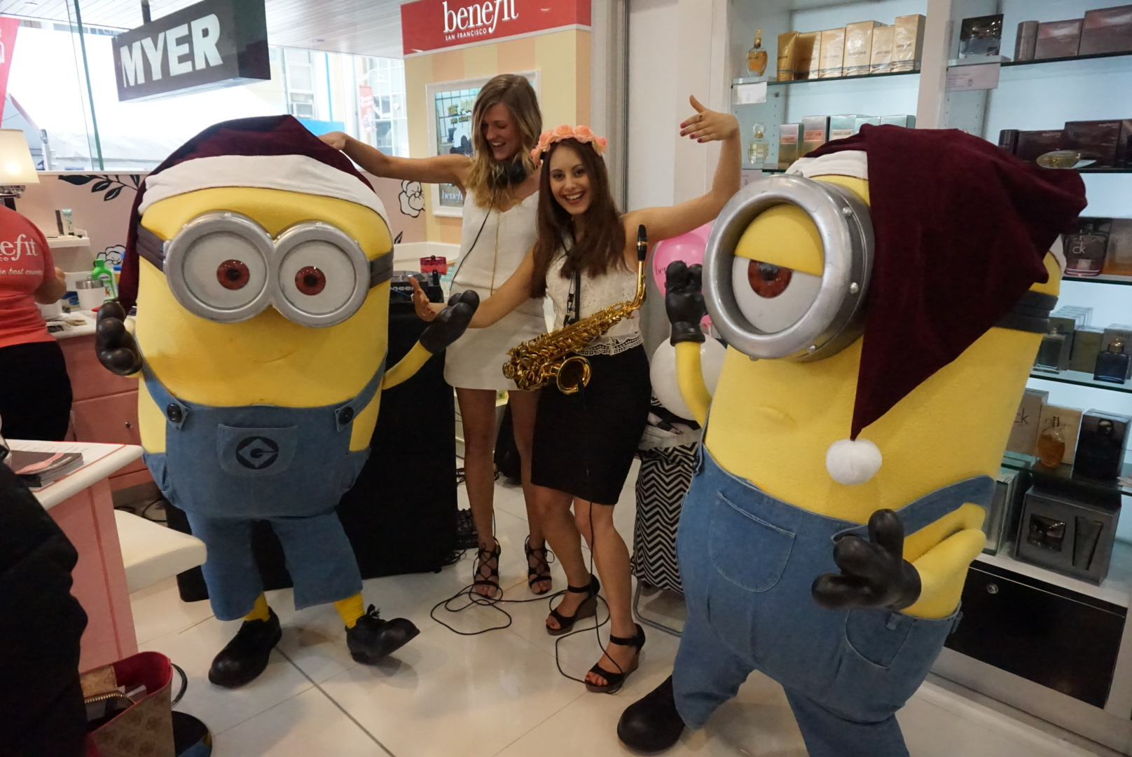 Minion, Melba Hall, university of melbourne, saxophone, teaching, music, musician, woodwind, clarinet, flute, kathryn cooper, melbourne, educator, performer, DJ, jazz, classical, pop, school, Kath, kathcoops