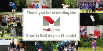 MailServe golf day