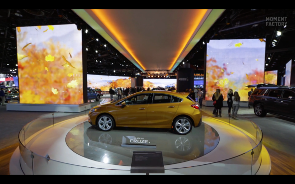 NORTH AMERICAN INTERNATIONAL AUTO SHOW, CHEVROLET