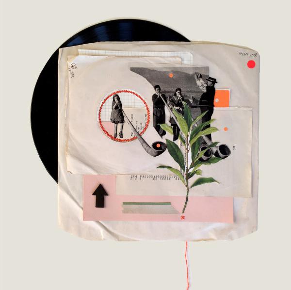 'Untitled' Vinyl Collage
