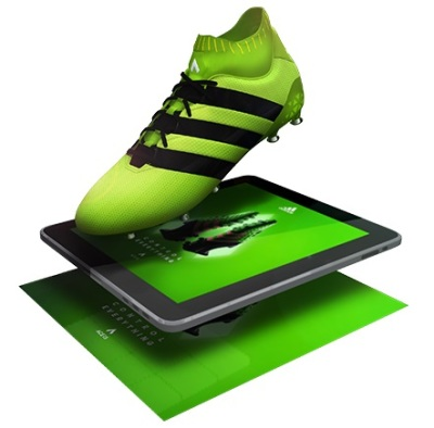 bizAR Reality worked with Adidas in South Africa to create an Augmented and Virtual reality experience for the launch of their new boots, using the Markit AR app.