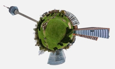 bizAR Reality creates high quality 360 degree images and videos. We seamlessly stitch these videos together to create an immersive experience.