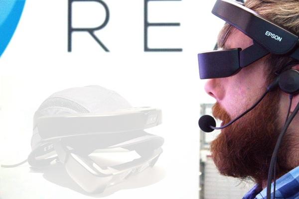 bizAR Reality's Epson Moverio Smart Glasses