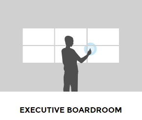 Executive Boardroom Interactive Screen South Africa