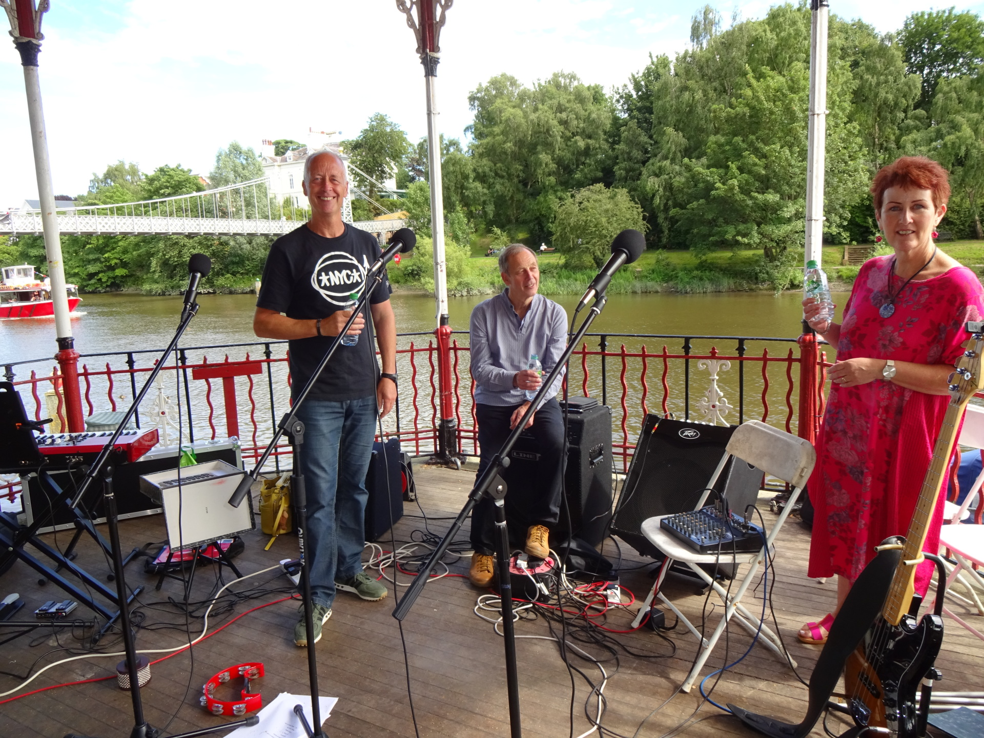 Magical day on Chester Bandstand