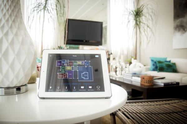 Interface de automação para tablets