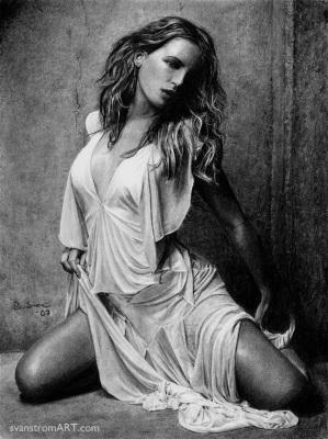 Kate Beckinsale White Dress (2007)
