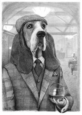 Mr Basset - one of the 'Best friends'