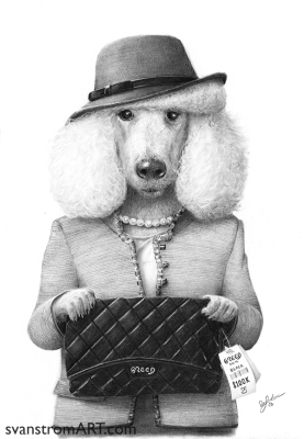 Ms Poodle by Per Svanstrom